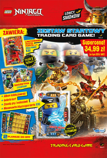 Lego Ninjago Tcg 4 Blue Ocean Entertainment Polska