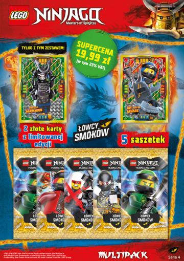 Zaktualizowano LEGO® NINJAGO®. TCG 4 | Blue Ocean Entertainment Polska CX43
