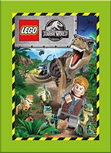 naklejki z kolekcji LEGO® Jurassic World™