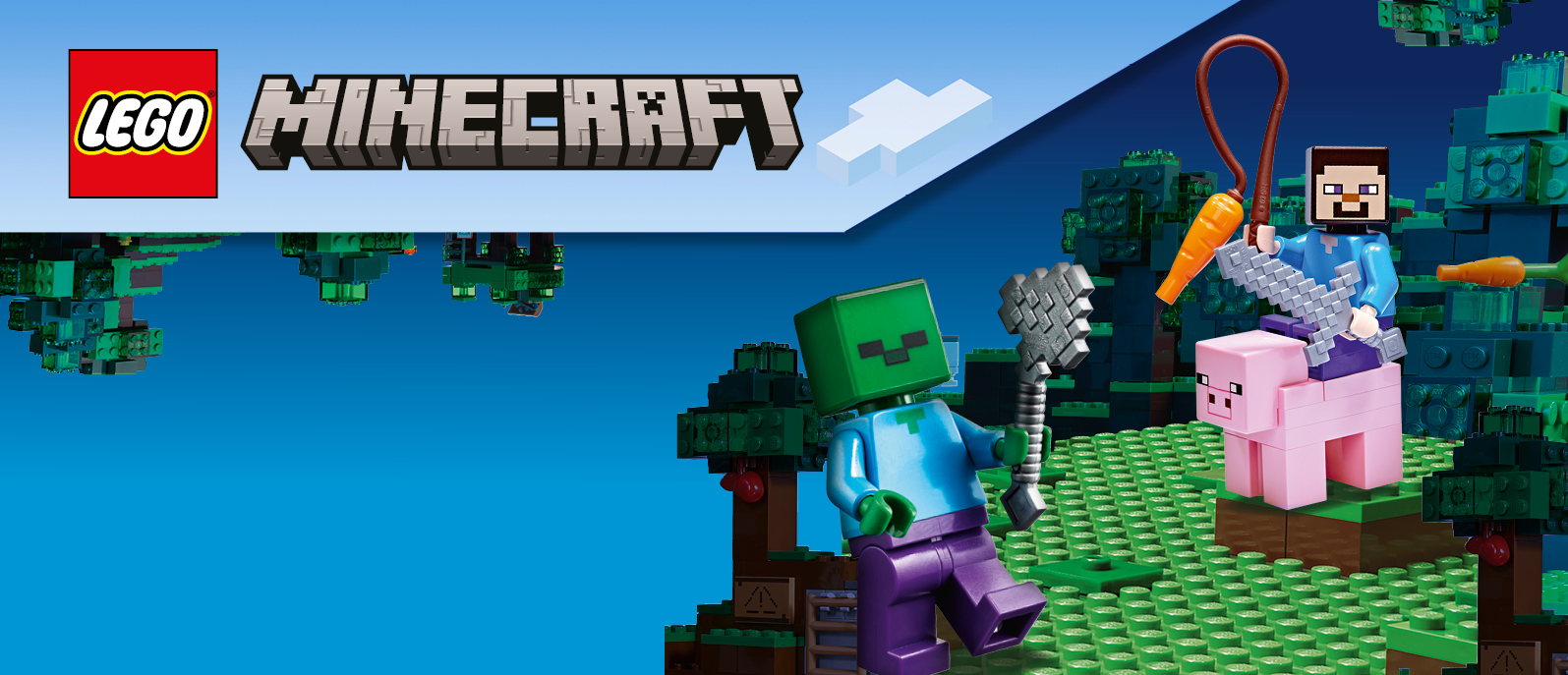 <br><br>Witaj w świecie<br>LEGO® Minecraft™!